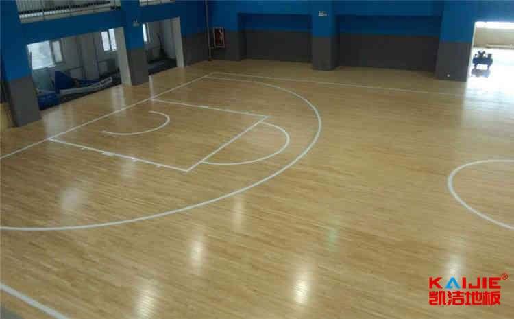 篮球木地板安装施工流程
