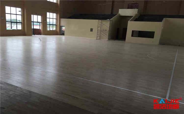 篮球场木地板日常保养需要留心的几点——体育木地板