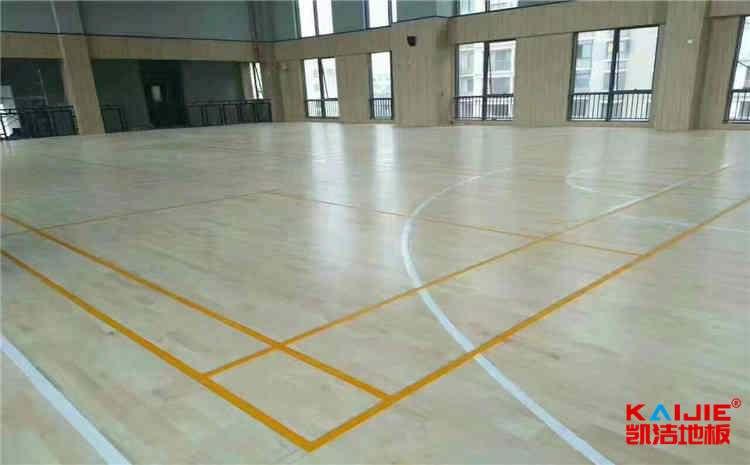 山东体育木地板包工包料