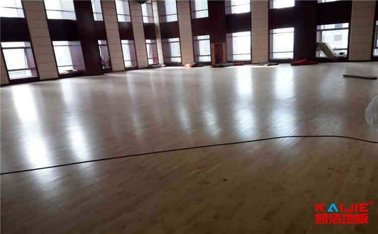 运动木地板价格区间为什么那么大——凯洁地板
