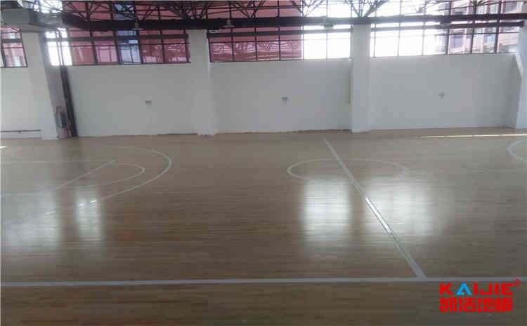 宁夏硬木企口体育地板厂