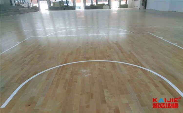家装实木地板与运动地板