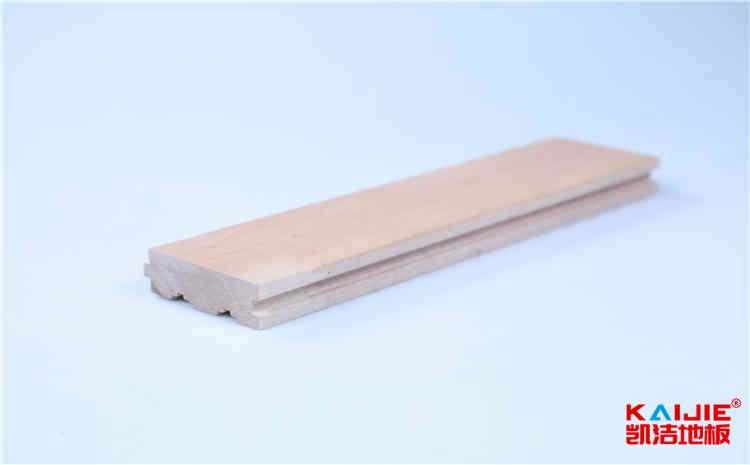 东营市篮球场运动木地板多少钱一平米——凯洁地板