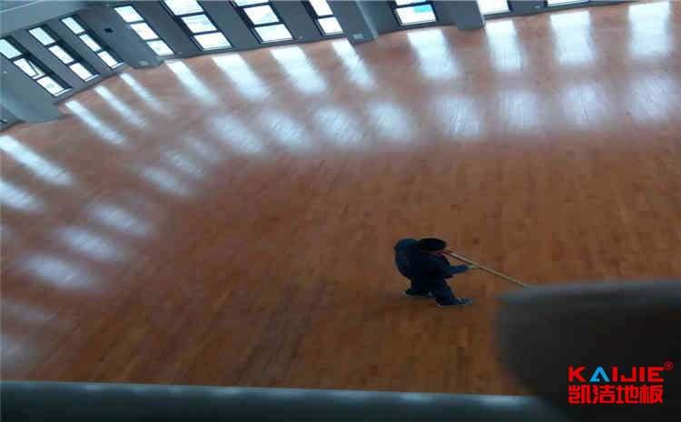 舞台地板保养
