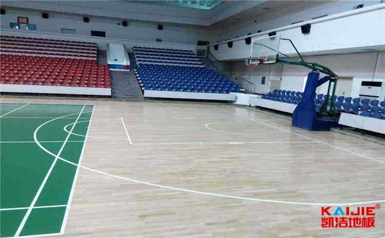篮球场专用运动木地板厂家