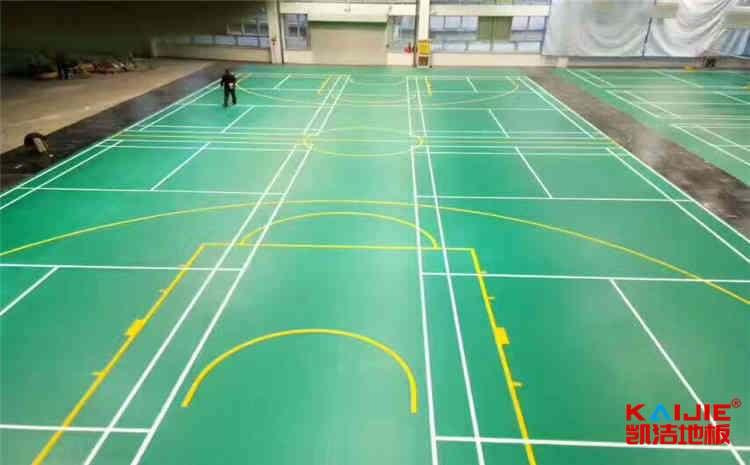 枫桦木篮球实木运动地板施工技术