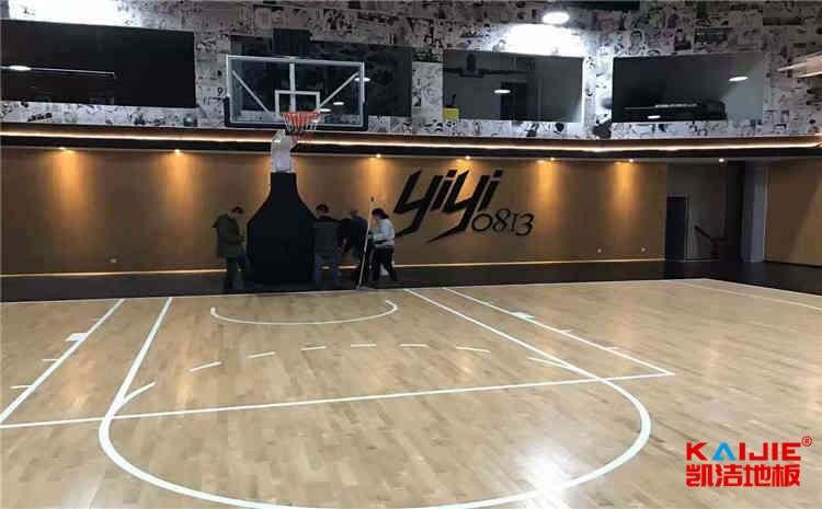 兰州柞木体育地板翻新