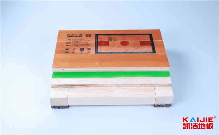 石家庄体育木地板多少钱一平米