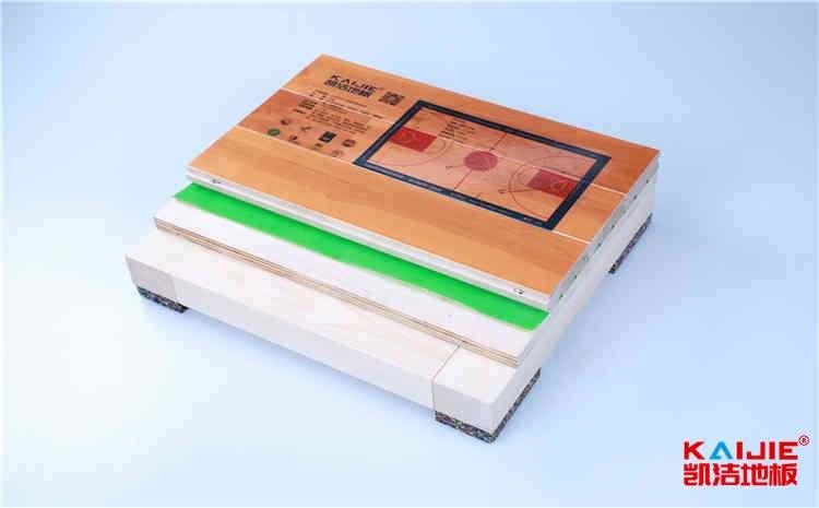 西安硬木企口体育地板打磨翻新