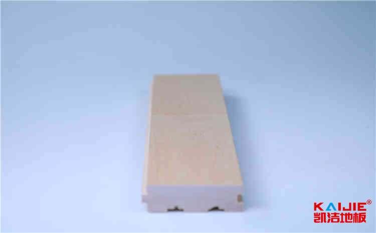 江山运动馆实木地板施工——凯洁地板