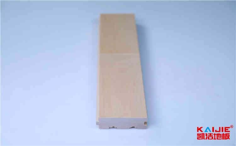 白银市篮球馆木地板怎么区分质量好坏——凯洁地板