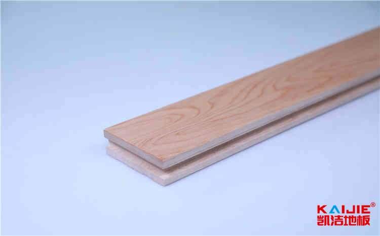 运动木地板必备特性——凯洁地板