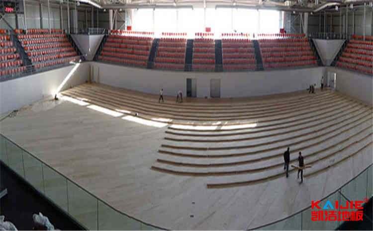 柞木篮球馆木地板施工工艺