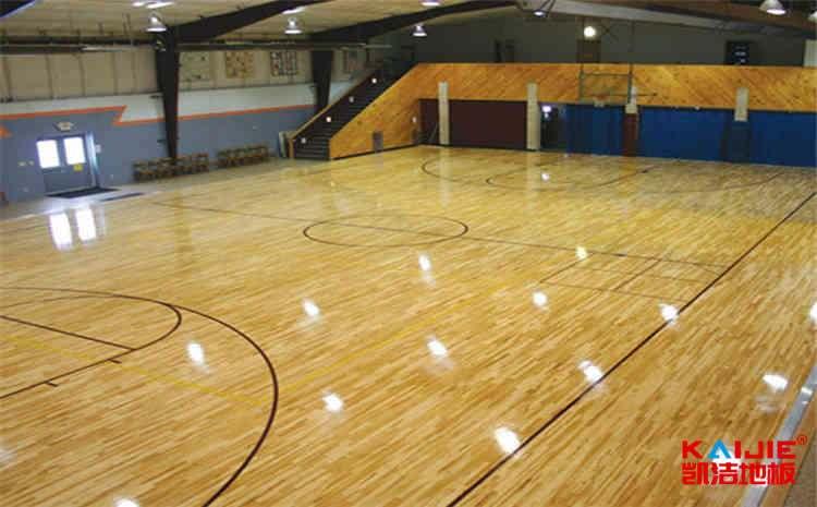 台湾篮球木地板施工工艺