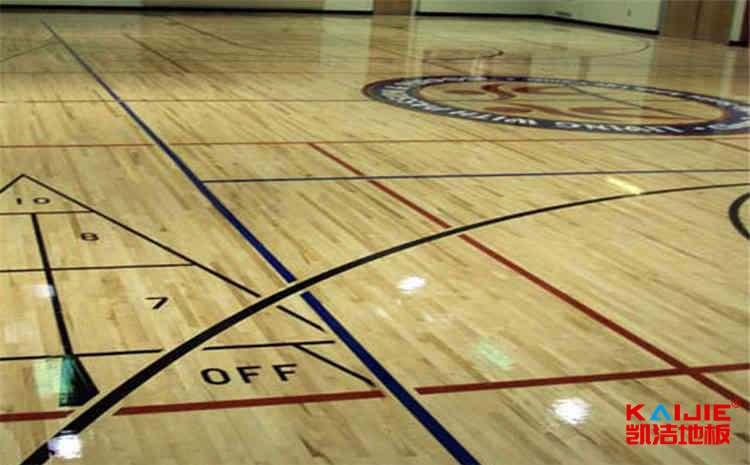 云南企口体育地板怎么安装
