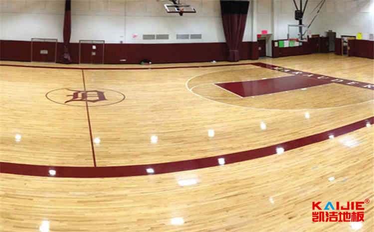 大型篮球木地板施工方案