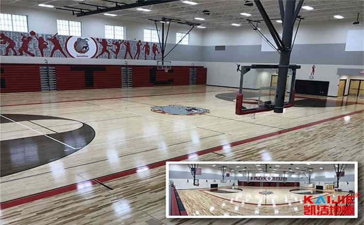 篮球场木地板日常保养需要留心的几点——篮球场木地板