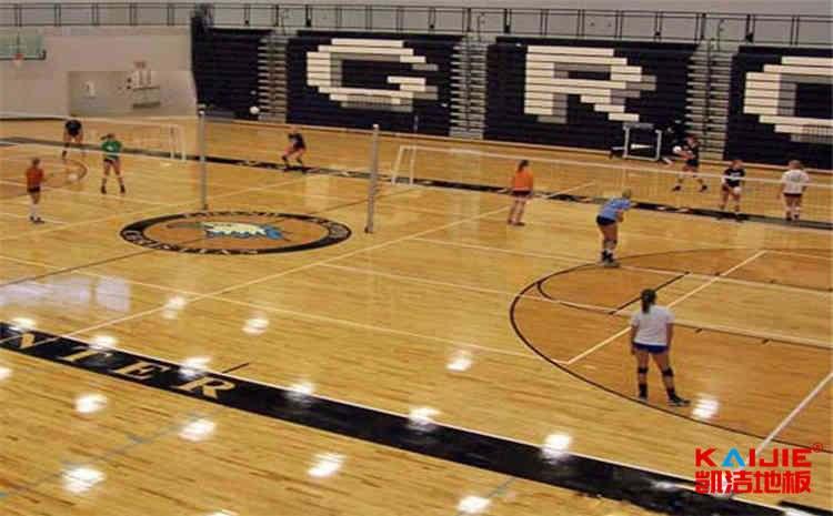 篮球馆木地板龙骨结构怎么安装——体育运动地板