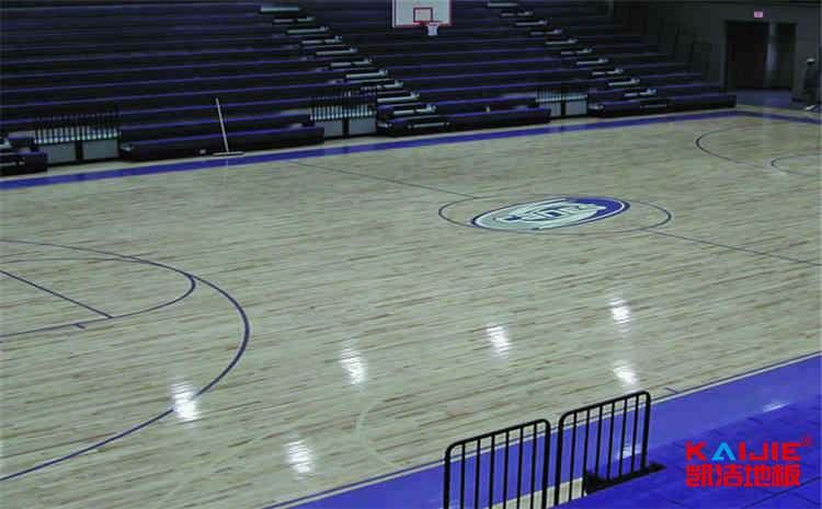 篮球馆木地板结构解析