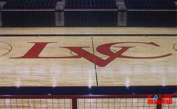 篮球场木地板有哪些结构种类——凯洁地板