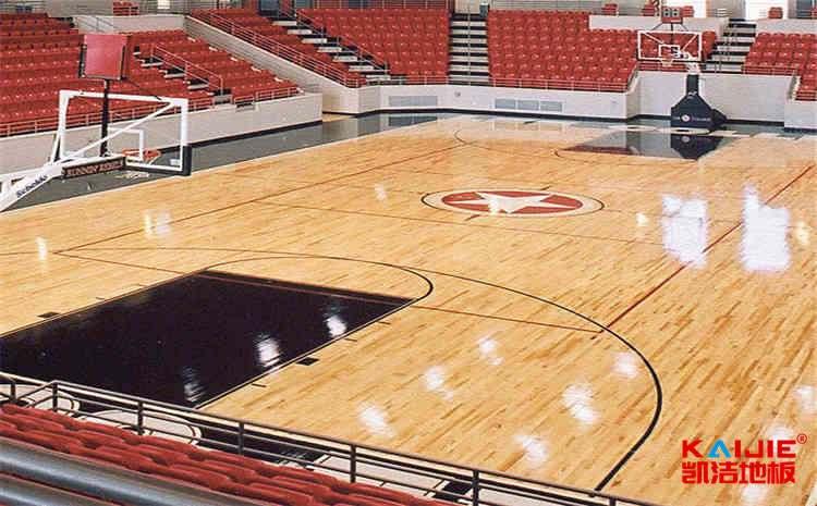 羽毛球馆运动木地板每平米多少钱