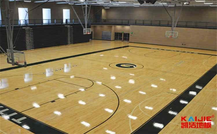 陕西篮球木地板施工工艺