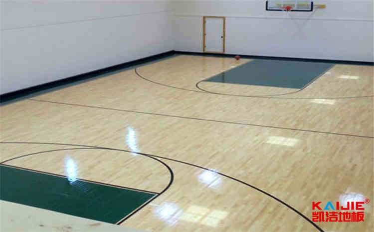 兰州企口体育地板施工方案
