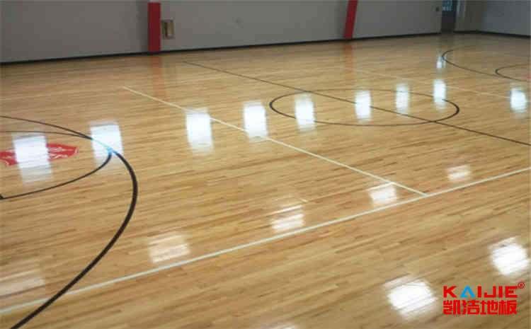 云南体育木地板施工工艺——运动木地板