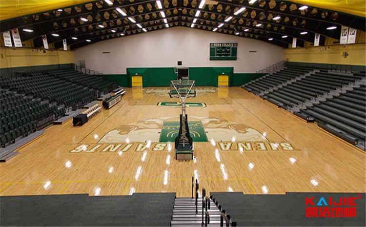兰州运动木地板生产厂家——篮球木地板