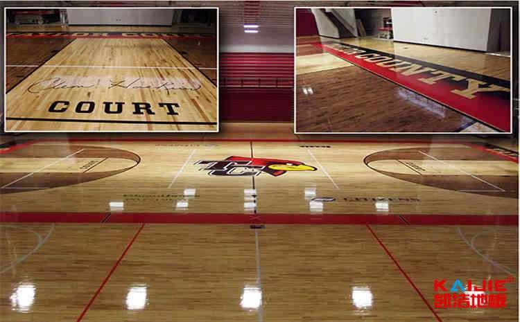 训练馆篮球木地板施工工艺