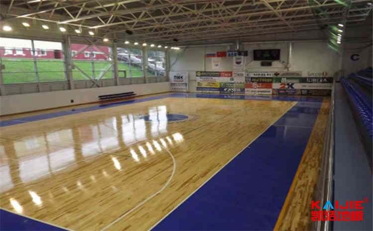 体育馆木地板系统结构有哪些——凯洁地板