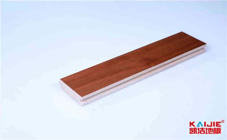 硬木企口运动木地板粗糙度检测——凯洁地板