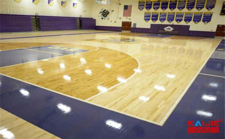 nba篮球地板是什么材质