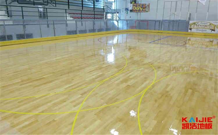 体育馆木地板选材和安装方法