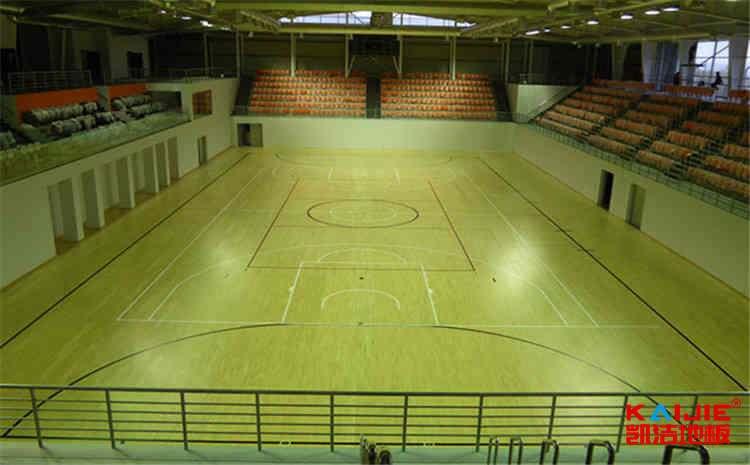 学校体育木地板维修