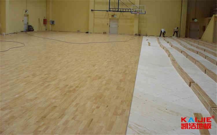 壁球馆木地板怎样划线——凯洁地板