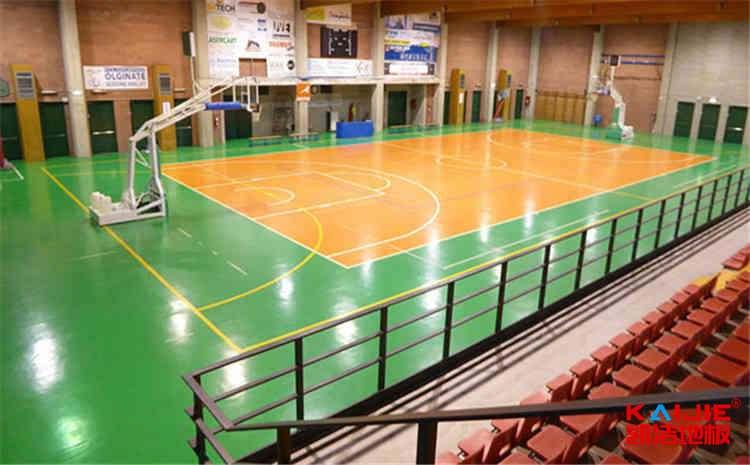 专业篮球木地板结构功能是什么——凯洁地板
