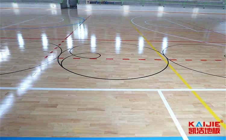广东运动木地板生产厂家——壁球木地板