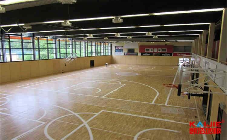 壁球馆木地板生产厂家哪家好——凯洁地板
