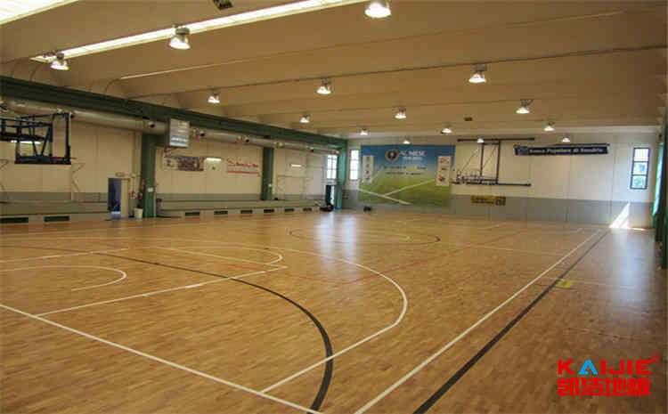 硬木企口篮球场木地板价格是多少