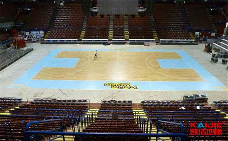 常见的篮球木地板直销