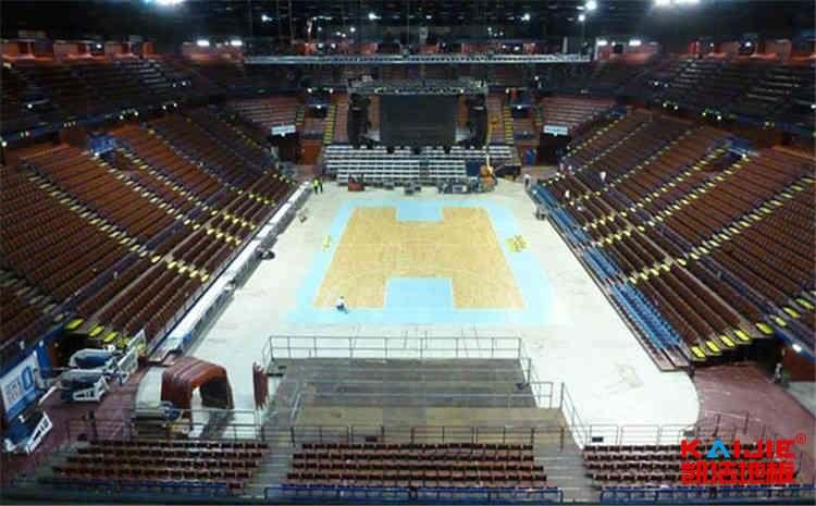 室内篮球场木地板变形怎么处理——运动木地板
