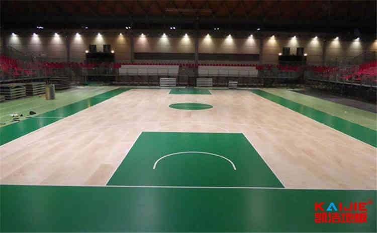 训练馆篮球场木地板防潮