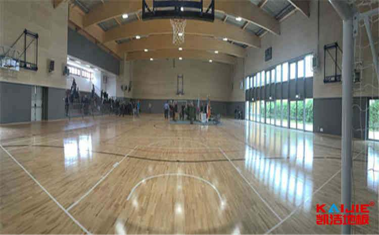 台湾篮球木地板每平米造价——实木运动地板