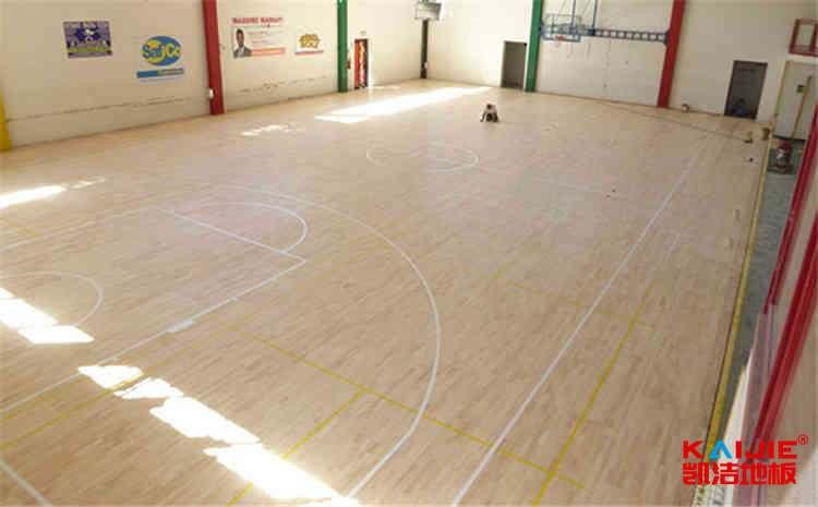 nba篮球场地板什么材料