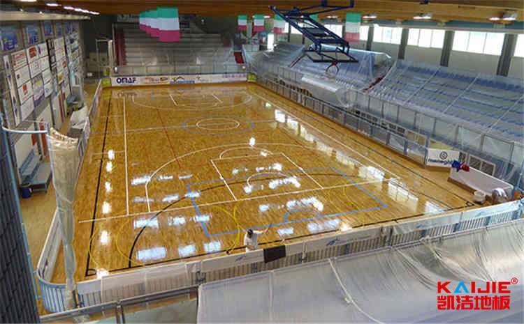 室内风雨操场木地板施工方案
