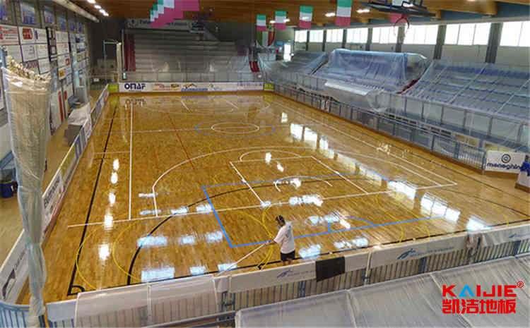 企口篮球场木地板哪家公司好