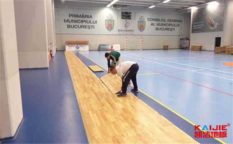哈尔滨篮球木地板施工
