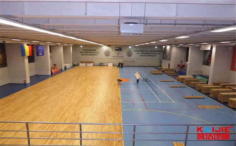 天长篮球木地板厂家生产工艺——健身房木地板品牌