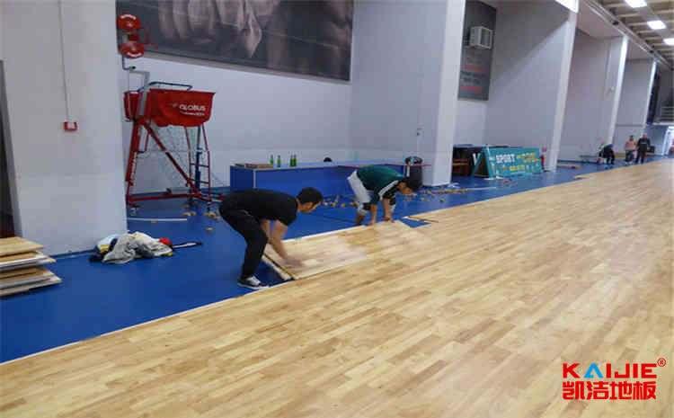 篮球场木地板通常怎么保养